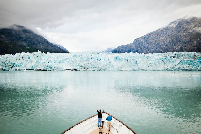 Margerie Glacier, seen from aboard the Safari Quest, Glacier Bay National Park